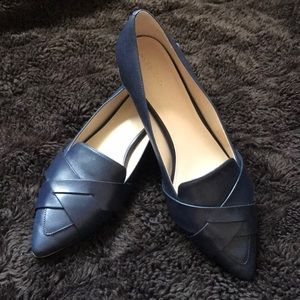 Cole Haan Beautiful blue shoes. Worn only once.